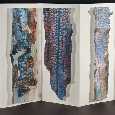 Portion of Suze Woolf artist book