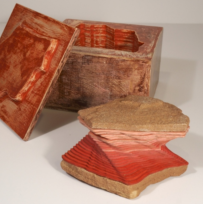 Photo of a Suze Woolf artist book