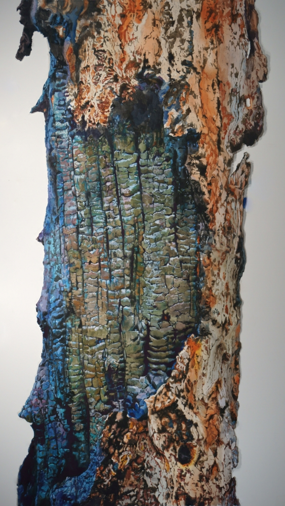 "Suze Woolf painting ""Corrugated"""