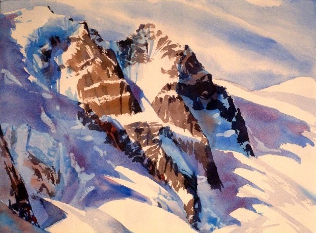 Adamant and Austerity is a Suze Woolf watercolor painting from Fairy Meadows.