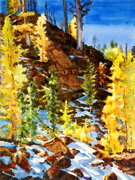 Ingalls Slope Larches